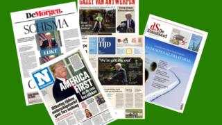 Revue de presse - annonce Trump - climat